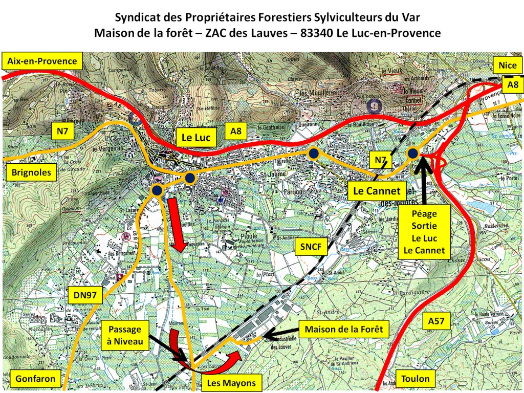 Plan Accès SPFSV