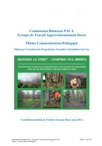 Rapport CRB Communication-Pédagogie