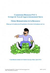 Rapport CRB Rémunération de la ressource