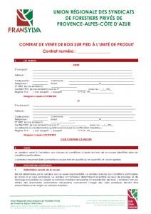 CV sur pied UP ID et Conditions générales